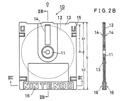 Famicom Disk System Disk Patent