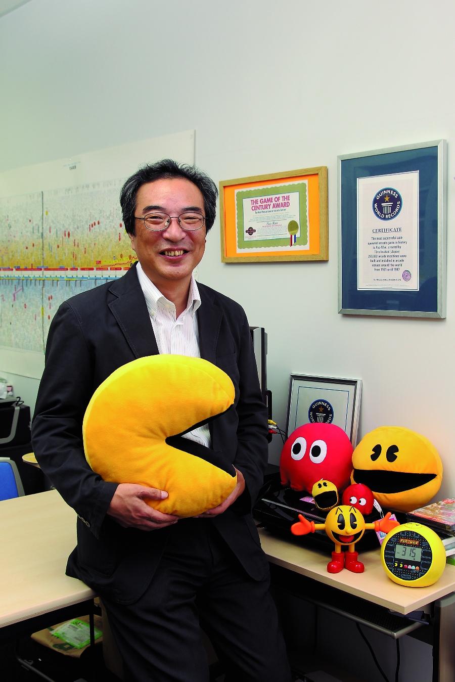 Toru Iwatani Net Worth